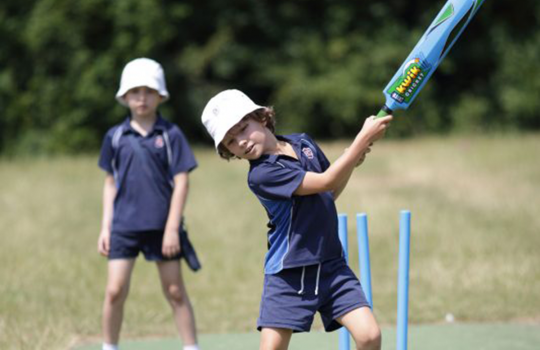 Cricket at school